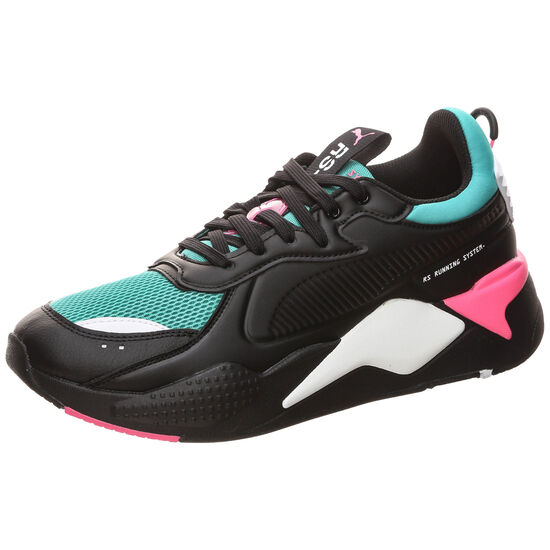 RS-X Master Sneaker, schwarz / mint, zoom bei OUTFITTER Online
