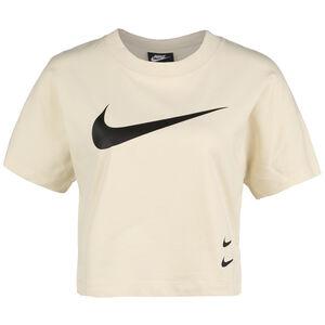 Sportswear Swoosh T-Shirt Damen, khaki, zoom bei OUTFITTER Online