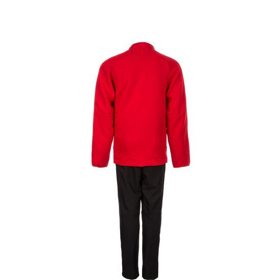 Dry Academy 18 Trainingsanzug Kinder, rot / schwarz, zoom bei OUTFITTER Online