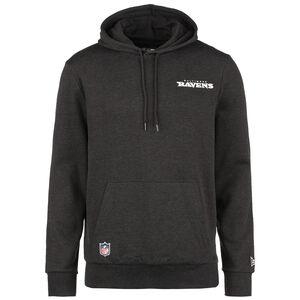 NFL Baltimore Ravens Logo Kapuzenpullover Herren, anthrazit / weiß, zoom bei OUTFITTER Online
