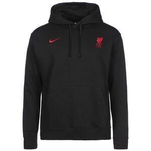 FC Liverpool Club Kapuzenpullover Herren, schwarz / rot, zoom bei OUTFITTER Online