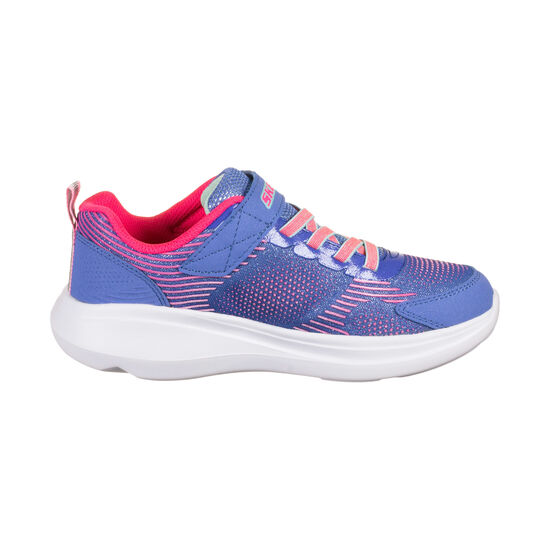 Go Run Fast Neon Jams Sneaker Kinder, blau / rot, zoom bei OUTFITTER Online