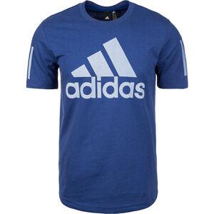 Sport ID Logo Trainingsshirt Herren, blau / weiß, zoom bei OUTFITTER Online
