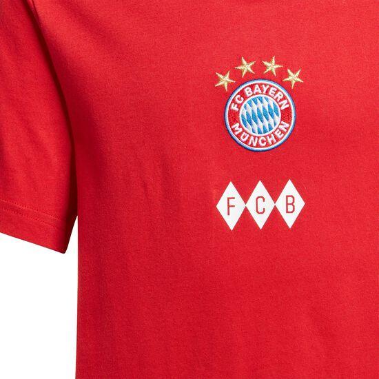 FC Bayern München Graphic T-Shirt Kinder, rot / weiß, zoom bei OUTFITTER Online