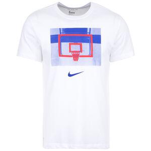 Backboard Basketballshirt Herren, weiß, zoom bei OUTFITTER Online