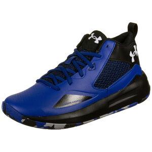 Lockdown 5 Basketballschuh Herren, blau / schwarz, zoom bei OUTFITTER Online