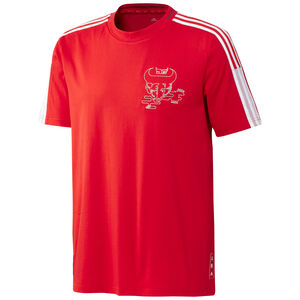 FC Arsenal Chinese New Year T-Shirt Herren, rot / weiß, zoom bei OUTFITTER Online