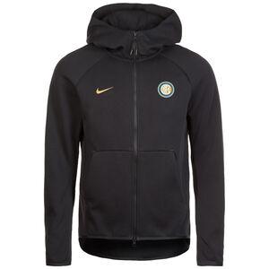 Inter Mailand Tech Fleece Kapuzenjacke Herren, schwarz / gold, zoom bei OUTFITTER Online
