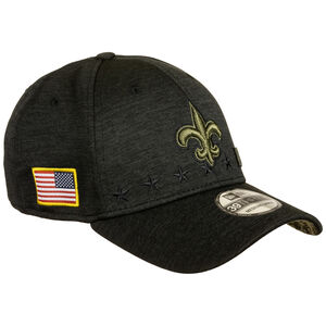 NFL New Orleans Saints 39Thirty Salute to Service Cap, schwarz, zoom bei OUTFITTER Online
