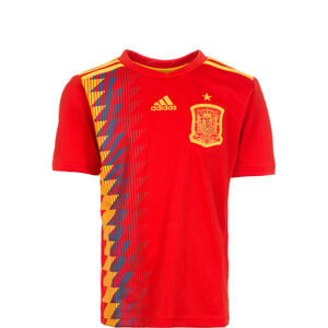 FEF Spanien Trikot Home WM 2018 Kinder, Rot, zoom bei OUTFITTER Online