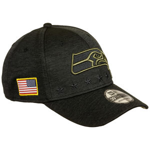 NFL Seattle Seahawks 39Thirty Salute to Service Cap, schwarz / gold, zoom bei OUTFITTER Online
