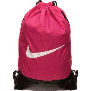 Brasilia Gymsack Turnbeutel, pink / schwarz, zoom bei OUTFITTER Online