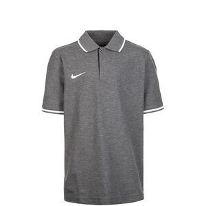 Club19 TM Poloshirt Kinder, grau / weiß, zoom bei OUTFITTER Online