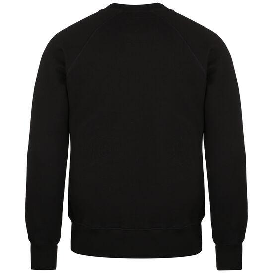 CAT Logo Roundneck Sweatshirt Herren, schwarz, zoom bei OUTFITTER Online