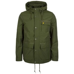 Micro Fleece Lined Kapuzenjacke Herren, grün, zoom bei OUTFITTER Online