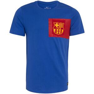 FC Barcelona Crest T-Shirt Herren, blau / rot / gelb, zoom bei OUTFITTER Online