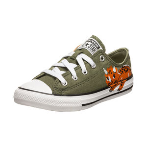 Chuck Taylor All Star Sneaker Kinder, grün, zoom bei OUTFITTER Online