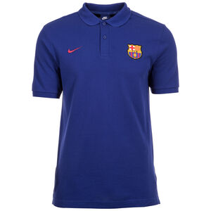 FC Barcelona Crest Poloshirt Herren, blau / rot, zoom bei OUTFITTER Online