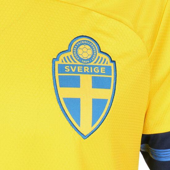 Schweden Trikot Home EM 2021 Herren, gelb / dunkelblau, zoom bei OUTFITTER Online