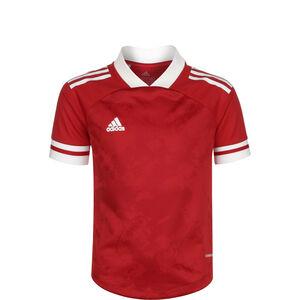 Condivo 20 Jersey Fußballtrikot Kinder, rot / weiß, zoom bei OUTFITTER Online