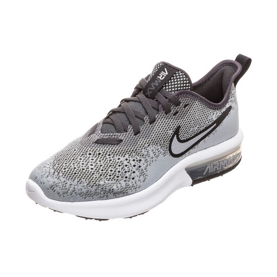 Air Max Sequent 4 Sneaker Kinder, grau / weiß, zoom bei OUTFITTER Online