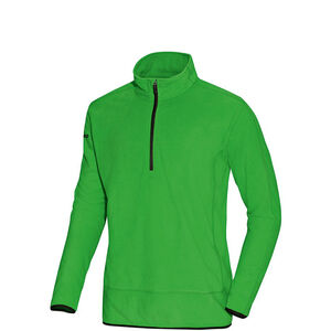 Fleece Team Trainingsshirt Herren & Kinder, grün / schwarz, zoom bei OUTFITTER Online