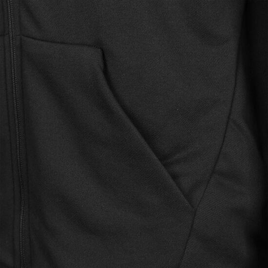 Dry Fleece GFX Kapuzenjacke Herren, schwarz / weiß, zoom bei OUTFITTER Online