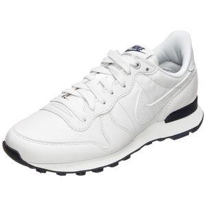 Internationalist Premium Sneaker Damen, weiß / dunkelblau, zoom bei OUTFITTER Online