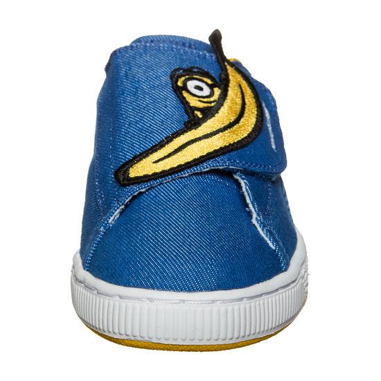 Minions X Puma Basket Wrap Statement Sneaker Kinder, Blau, zoom bei OUTFITTER Online
