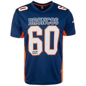 NFL Moro Poly Mesh Denver Broncos T-Shirt Herren, dunkelblau / orange, zoom bei OUTFITTER Online