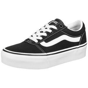 Ward Platform Sneaker Damen, schwarz / weiß, zoom bei OUTFITTER Online