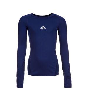 AlphaSkin Trainingsshirt Kinder, dunkelblau, zoom bei OUTFITTER Online