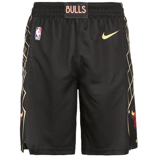 NBA Chicago Bulls Swingman Shorts Herren, anthrazit / gold, zoom bei OUTFITTER Online