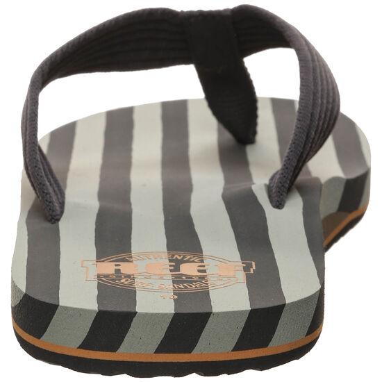 Original Stripes Zehentrenner Herren, grau / grün, zoom bei OUTFITTER Online