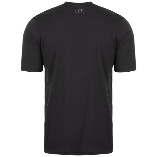 UA Makes You Better Trainingsshirt Herren, schwarz / weiß, zoom bei OUTFITTER Online