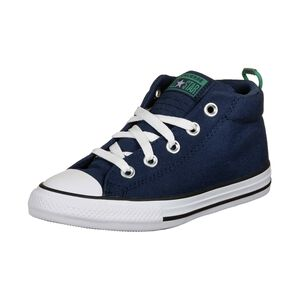 Chuck Taylor All Star Street Mini Wordmark Sneaker Kinder, blau, zoom bei OUTFITTER Online