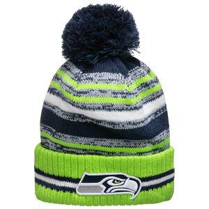 NFL Seattle Seahawks Sideline Bobble Knit Mütze, , zoom bei OUTFITTER Online