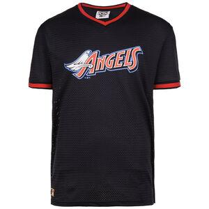 MLB Mesh Anaheim Angels T-Shirt Herren, Schwarz, zoom bei OUTFITTER Online