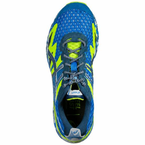 Gel-Noosa Tri 12 Laufschuh Herren, blau / neongrün, zoom bei OUTFITTER Online