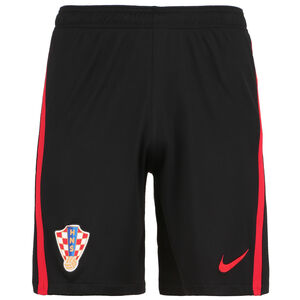 Kroatien Shorts Home/Away Stadium EM 2021 Herren, schwarz / rot, zoom bei OUTFITTER Online