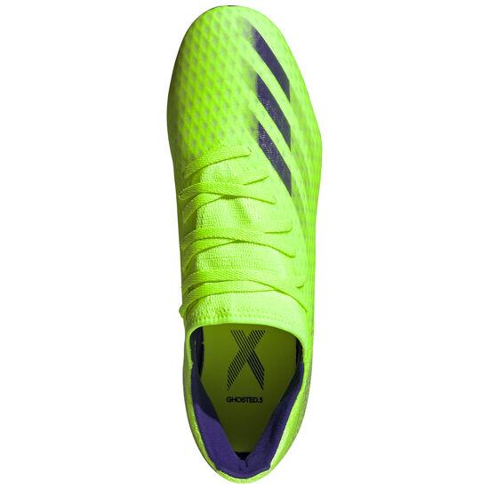 X Ghosted.3 SG Fußballschuh Herren, hellgrün / blau, zoom bei OUTFITTER Online