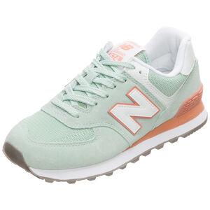 WL574-B Sneaker Damen, hellblau / beige, zoom bei OUTFITTER Online