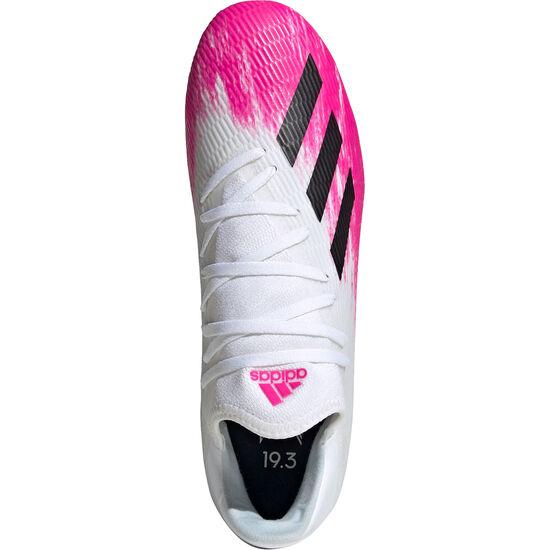 X 19.3 FG Fußballschuh Herren, weiß / pink, zoom bei OUTFITTER Online