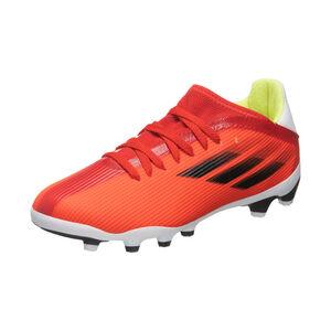 X Speedflow.3 MG Fußballschuh Kinder, rot / weiß, zoom bei OUTFITTER Online