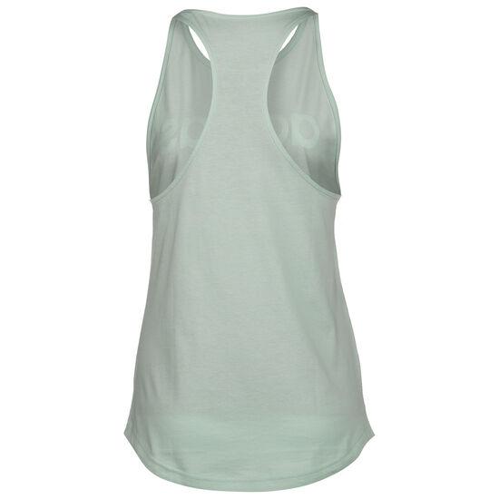 Essentials Linear Loose Tanktop Damen, grün / weiß, zoom bei OUTFITTER Online