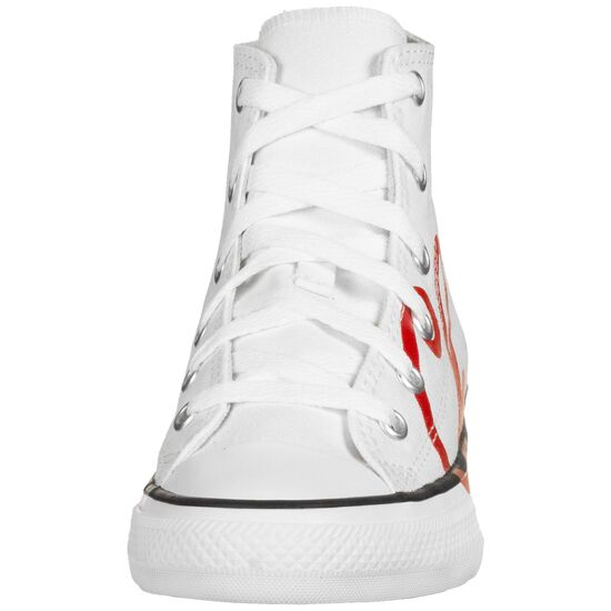 Chuck Taylor All Star High Sneaker Kinder, weiß / rot, zoom bei OUTFITTER Online