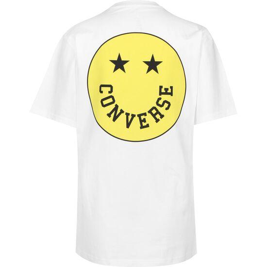 Smiley T-Shirt Herren, weiß, zoom bei OUTFITTER Online
