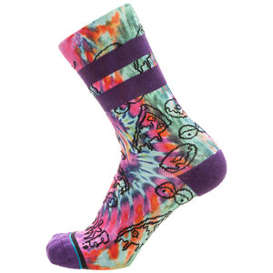 Sidestep Broke Socken, lila / bunt, zoom bei OUTFITTER Online