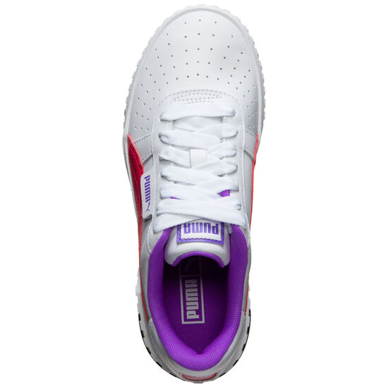 Cali Chase Sneaker Damen, weiß / pink, zoom bei OUTFITTER Online