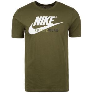 Futura T-Shirt Herren, grün / weiß, zoom bei OUTFITTER Online